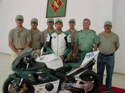 El equipo de la Guardia Civil