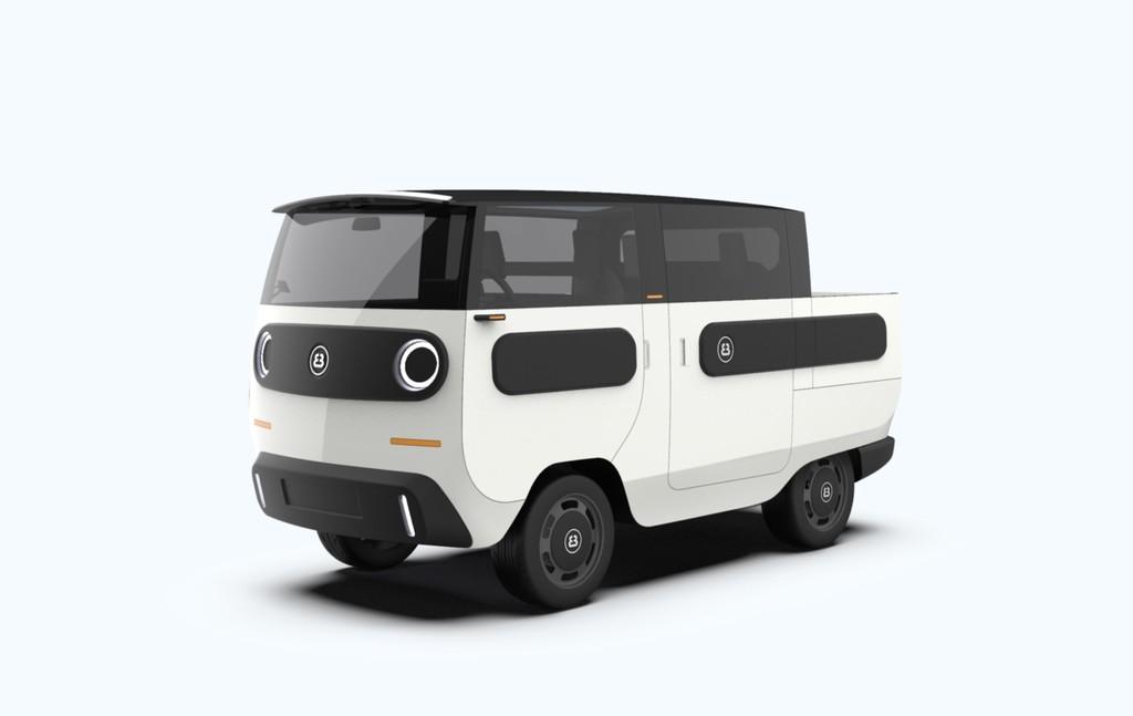 eBussy, el coche eléctrico modular que se adapta para transformarse en camioneta, minibus y inclusive 10 configuraciones distintas