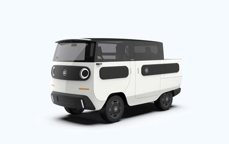 eBussy, el coche eléctrico modular que se adapta para convertirse en camioneta, minibus y hasta diez configuraciones distintas