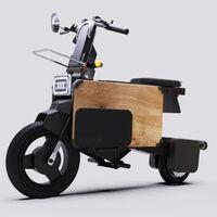 Tatamel Bike: esta es la moto eléctrica menos estorbosa del mundo, se dobla para que la puedas guardar bajo tu escritorio
