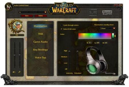 Creative Soundblaster World of Warcraft Software