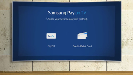 Samsung Pay llega a las teles para que puedas pagar desde el sofá
