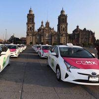 Gobierno dará a taxistas recursos de los impuestos de Uber, Cabify y DiDi para que renueven sus unidades