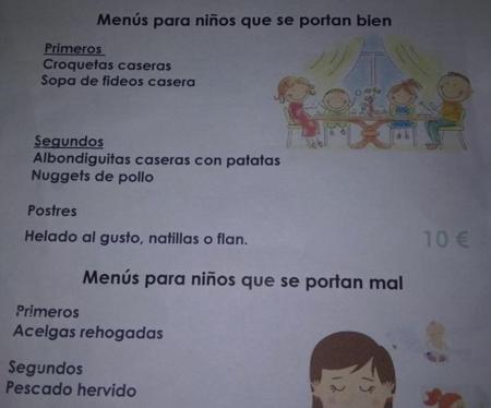 La desafortunada campaña de una cafetería, al utilizar la comida de los niños como premio y castigo