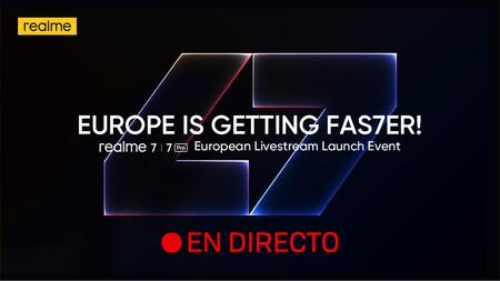 Realme 7 Series: sigue en directo y en vídeo la presentación de hoy con nosotros [finalizado]