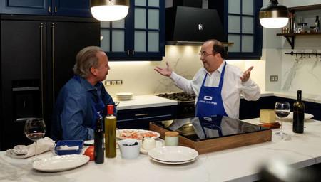 Fotosmiquel Iceta Cocinando Con Bertin Osborne