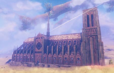Esta réplica de la Catedral de Notre Dame de París es lo más espectacular que hemos visto construir en Valheim hasta ahora