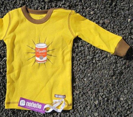 Camiseta Poptito de Noñoño para bebés Warhol