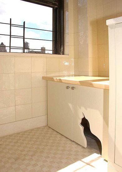 Una buena idea: personaliza tus muebles y puertas con siluetas