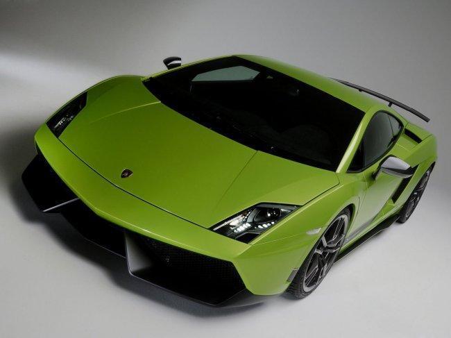 Lamborghini Gallardo verde