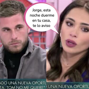 Sandra Pica desenmascara a Tom en 'Sábado Deluxe' y desvela lo que es capaz de hacer por salir en la tele