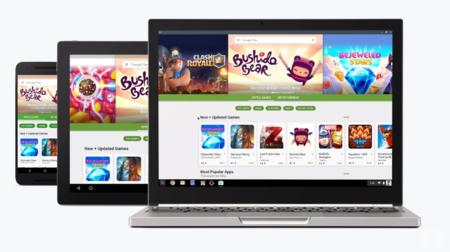 Así se lucirán las aplicaciones de Android en una Chromebook