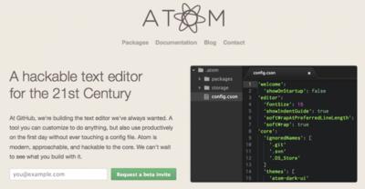 Atom, otro jugador en el mundo de los editores de código, by Github