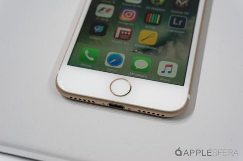 El nuevo botón home del iPhone 7
