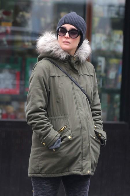 Rose Byrne, una futura mamá con un estilo muy cómodo