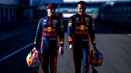 Verstappen Albon Red Bull F1 2020