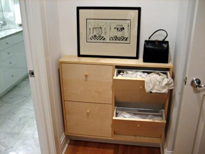La lavander a disfrazada for Mueble para ropa sucia