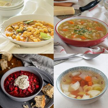 Las once mejores sopas con verduras de Directo al Paladar para llenar tus menús de vitaminas