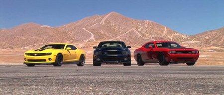 Hennessey Camaro HPE650 - Shelby GT500 Super Snake - SpeedFactory Challenger SRT8
