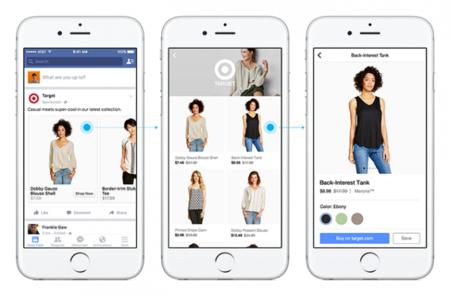Facebook añade una nueva pestaña para que puedas comprar desde el móvil