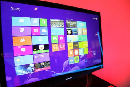 Windows 8 en monitor panorámico