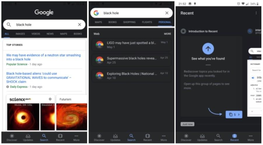 El manera oscuro llega además a Google™ Search, ya puedas descargar el apk