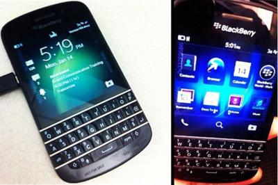 BlackBerry X10 con teclado QWERTY aparece en Instagram