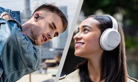 Sony presenta nuevos modelos de auriculares inalámbricos con cancelación de ruido a un precio más reducido