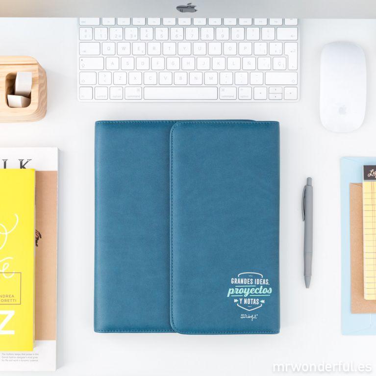 Portadocumentos - Grandes ideas, proyectos y notas