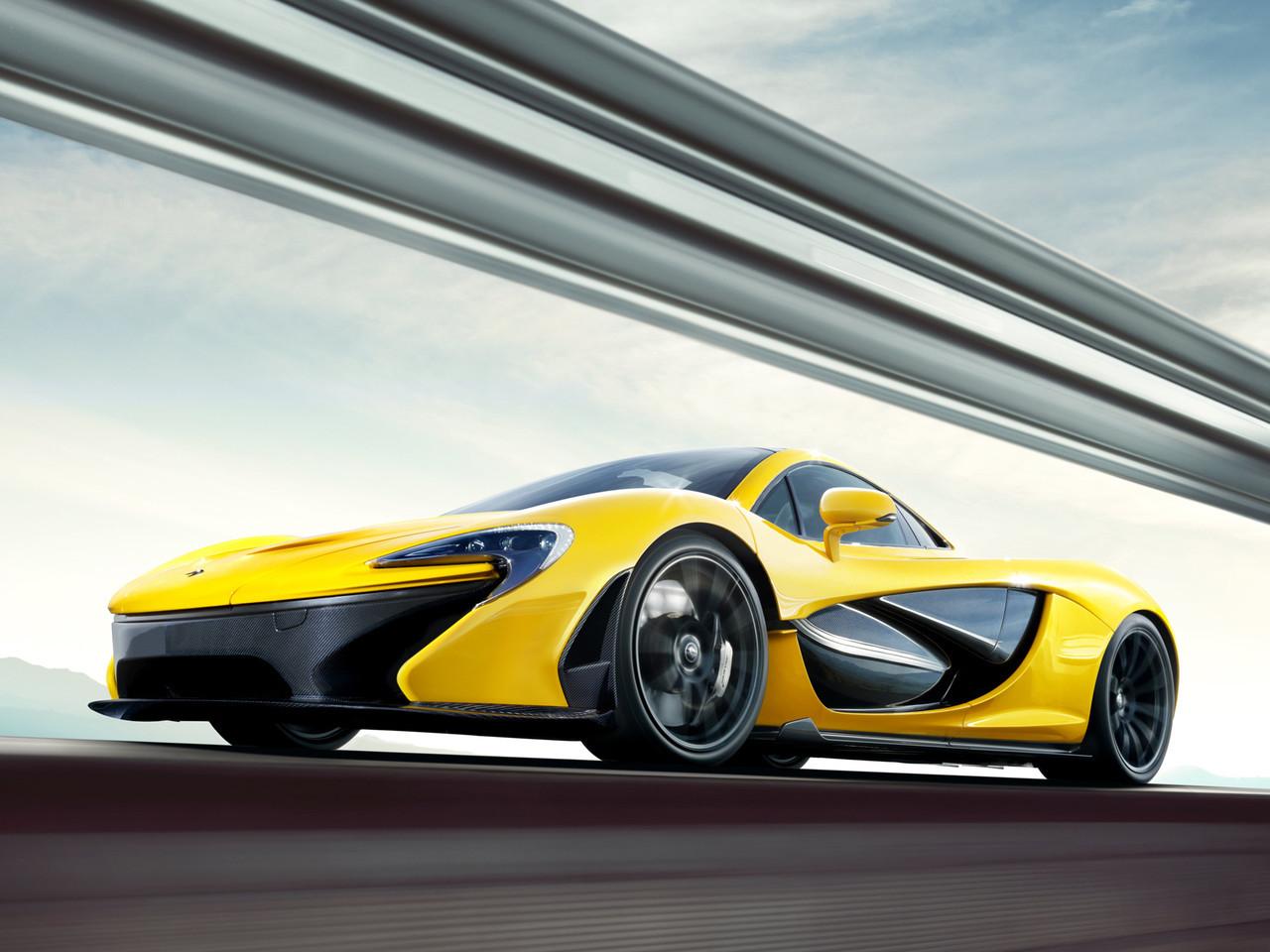 Foto de McLaren P1 amarillo (3/9)