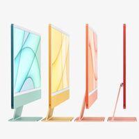 Los Apple iMac (2021) se renuevan y presumen de chip M1, y de un alegre diseño externo