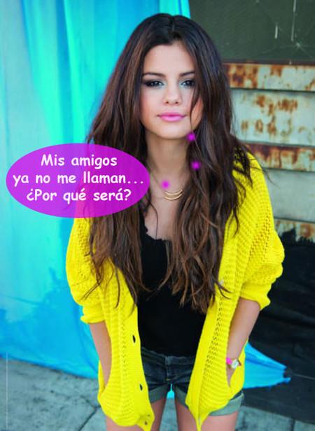 Los amigos de Selena Gomez hacen piña: volver con Justin, el error del año