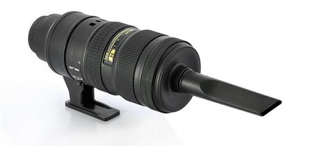 Cómo aspirar el coche con un teleobjetivo Nikon, o casi