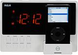 Radio RCA con dock para el iPod