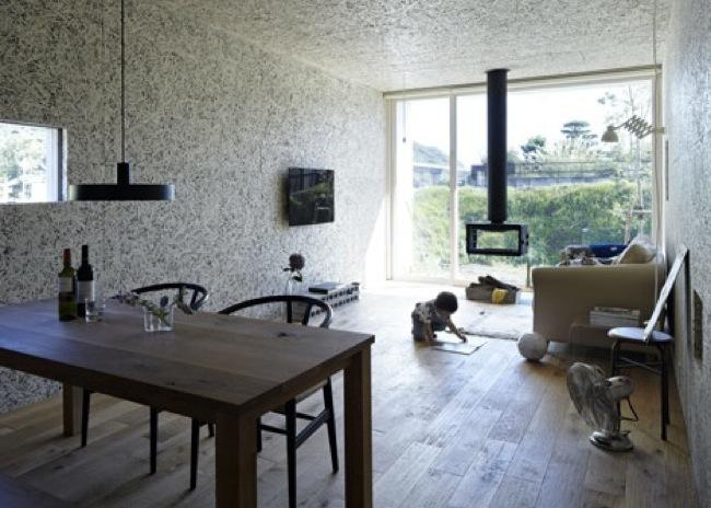 Puertas abiertas una casa japonesa de bajo presupuesto - Distribucion casa alargada ...