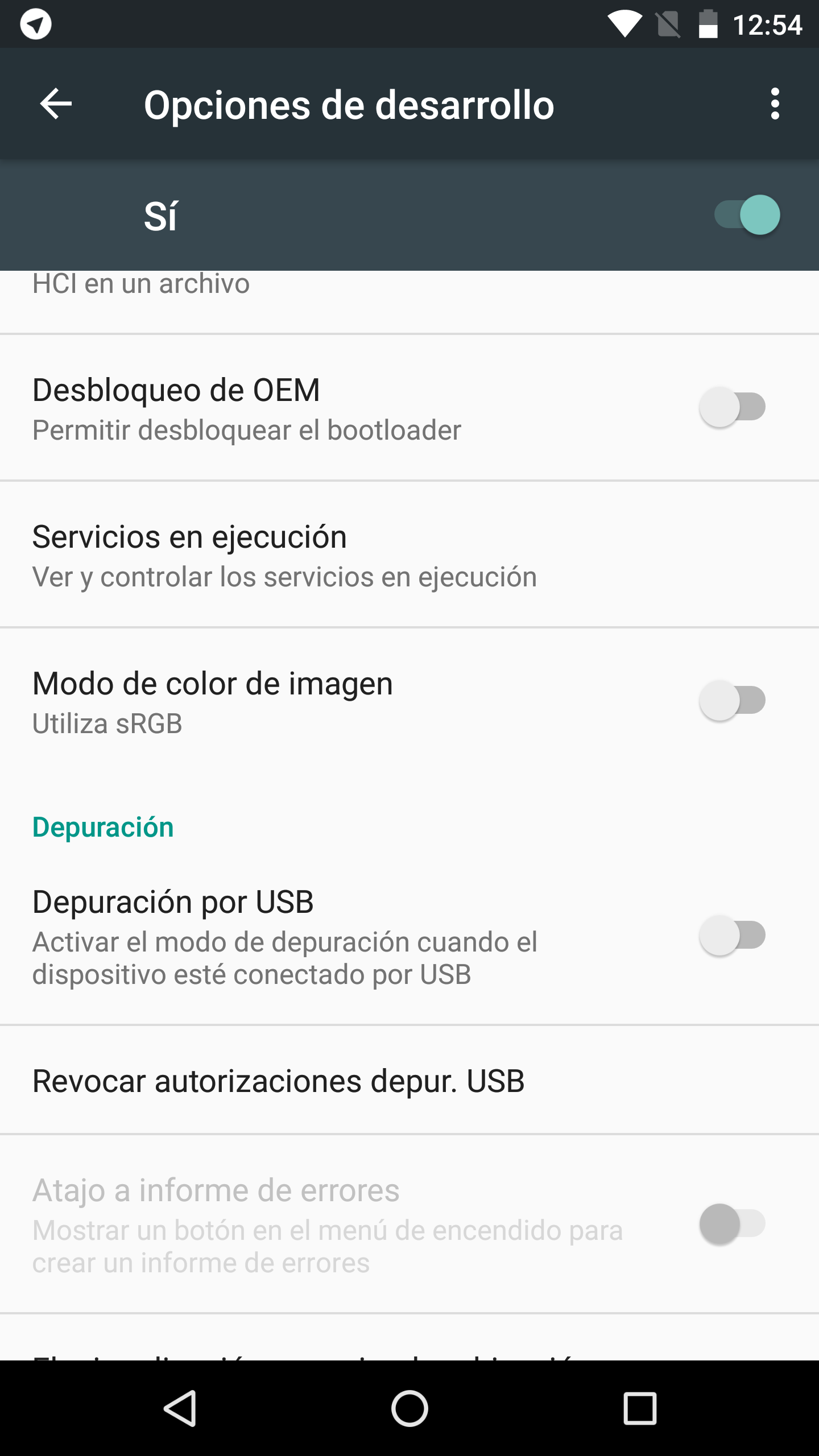 Foto de Android 6.0 en Nexus 6P (1/6)