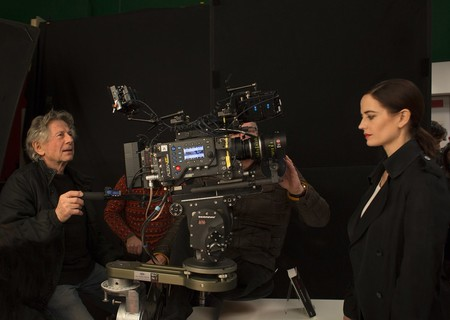 Roman Polanski y Eva Green