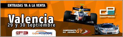 Valencia, la cita definitiva de la GP2, también por la tele