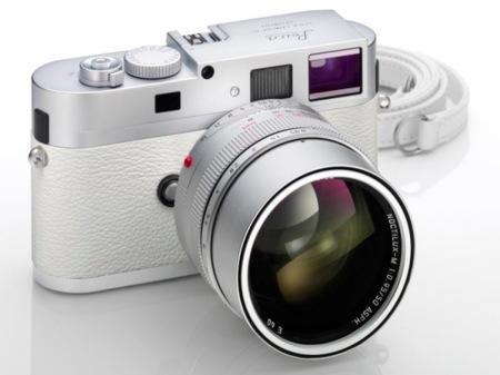 Leica M9-P, edición limitada en color blanco