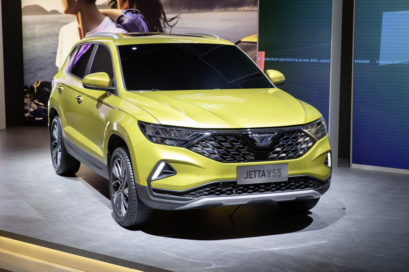 Así es el Jetta VS5, un Ateca al de la nueva marca china (que no es Volkswagen)