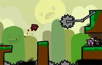 'Super Meat Boy: The Game'. Así luce en iOS