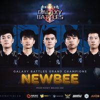 Newbee se proclama campeón de la primera edición del torneo Galaxy Battles de Dota 2