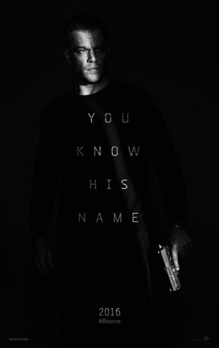 Teaser póster de Jason Bourne