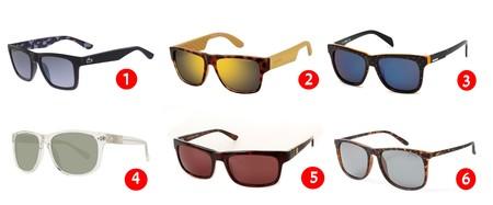 6 Gafas de sol de marcas como Lacoste, Polaroid, Carrera, Guess, Diesel...con descuentos de hasta el 40% en Ebay