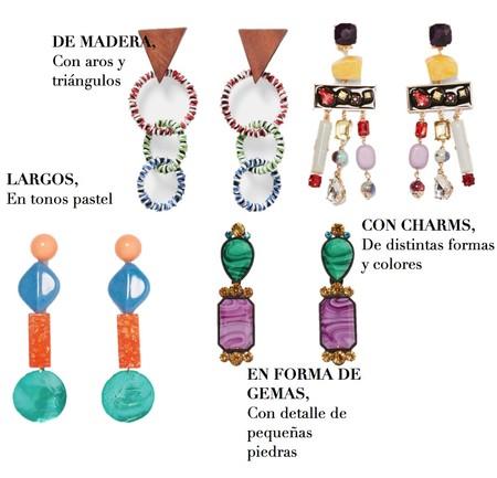Pendientes Zara 1