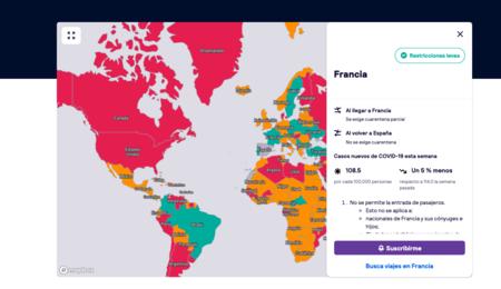 Mapa Interactivo Restricciones Covid
