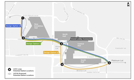 Potential Lvcc Loop Station Locations Final Configuration To Be Determined By The Lvcva Board