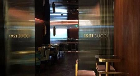 Restaurant Gucci Shanghai