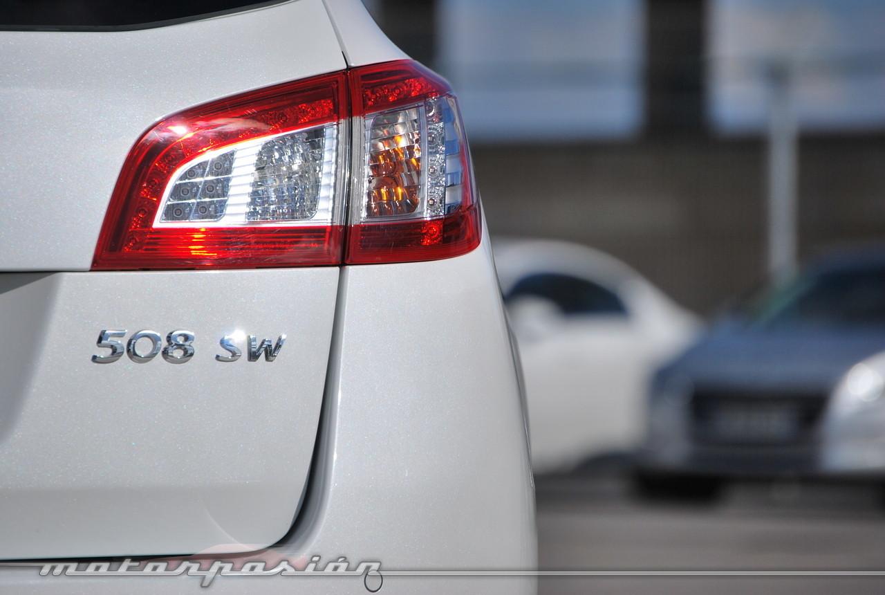 Foto de Peugeot 508 y 508 SW (presentación) (7/118)