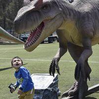 Esto es Iztapazauria: el parque gratuito de Iztapalapa con réplicas de dinosaurios con movimiento y sonido